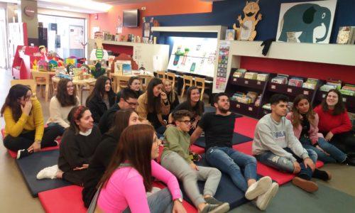 FP Educación Infantil: salida biblioteca