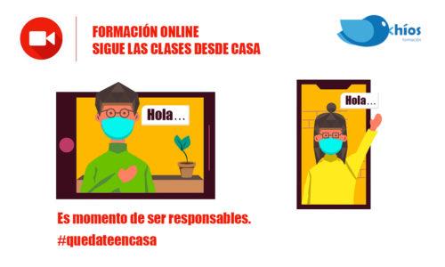 Chíos Formación online aula virtual