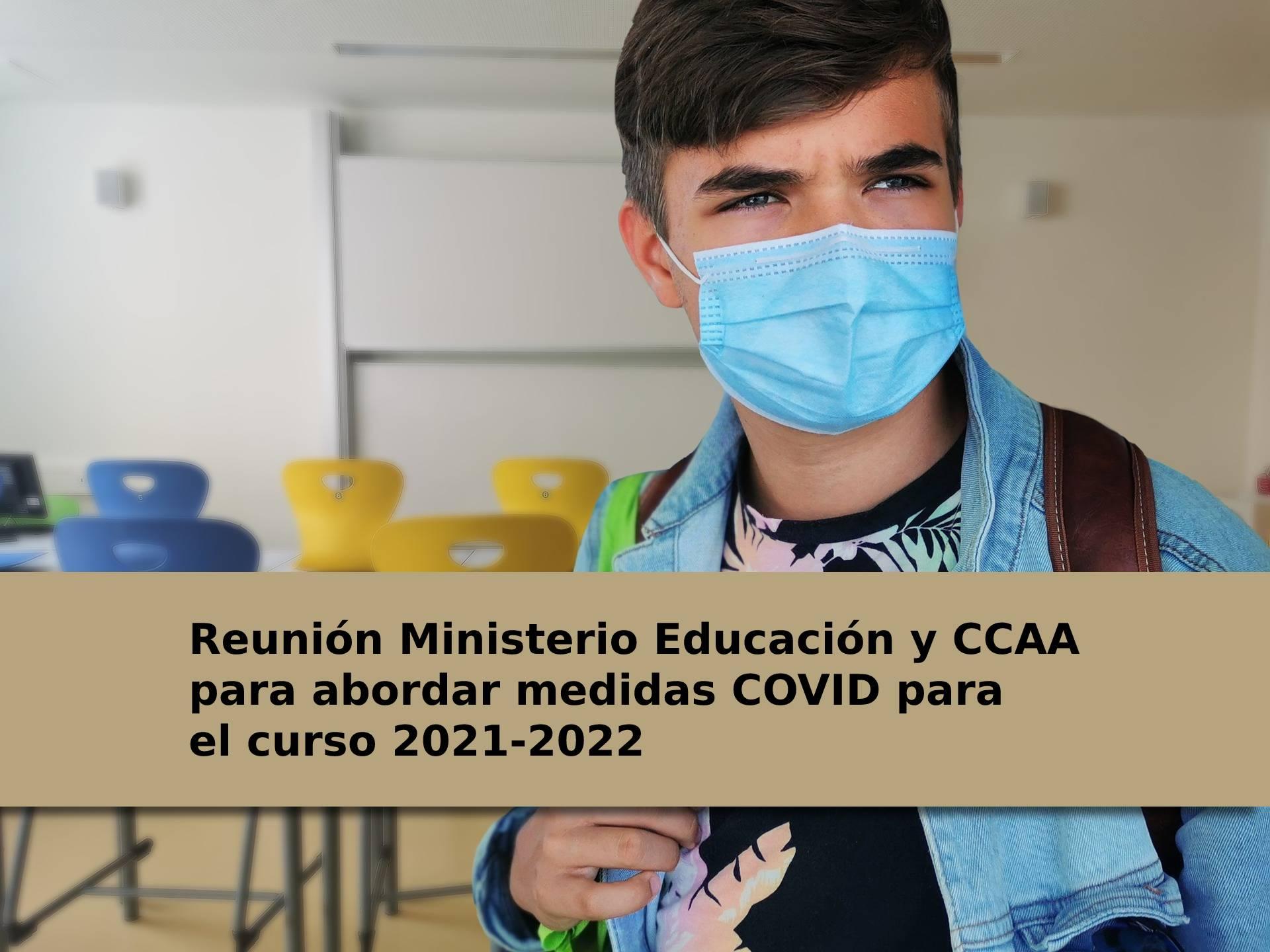 Prevista reunión de la ministra Alegría con las CCAA para abordar el inicio escolar 21-22 y las medidas COVID